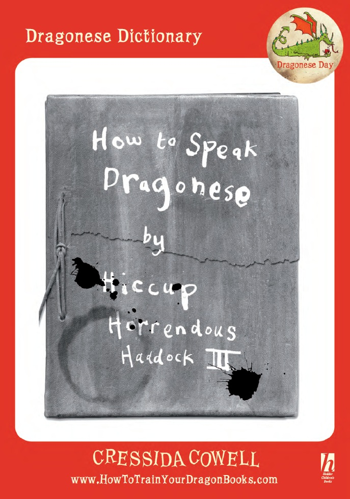 Dragonese dictionary