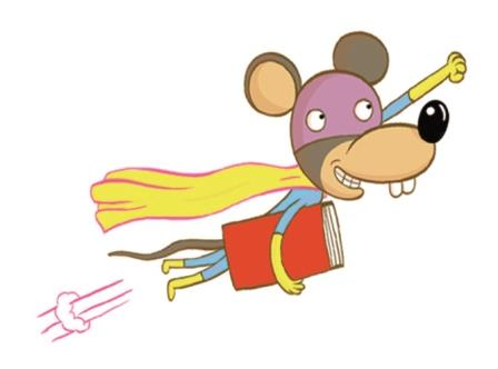 Supermouse flying