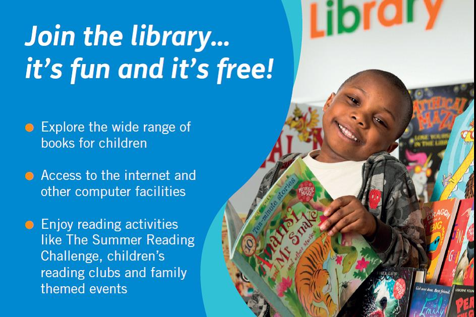 Library flyer image