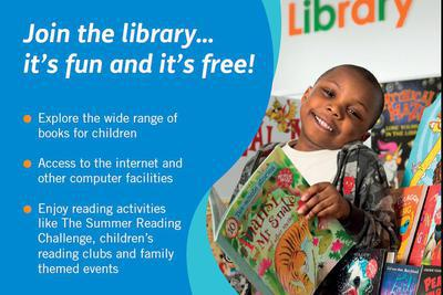 Thumb library flyer image