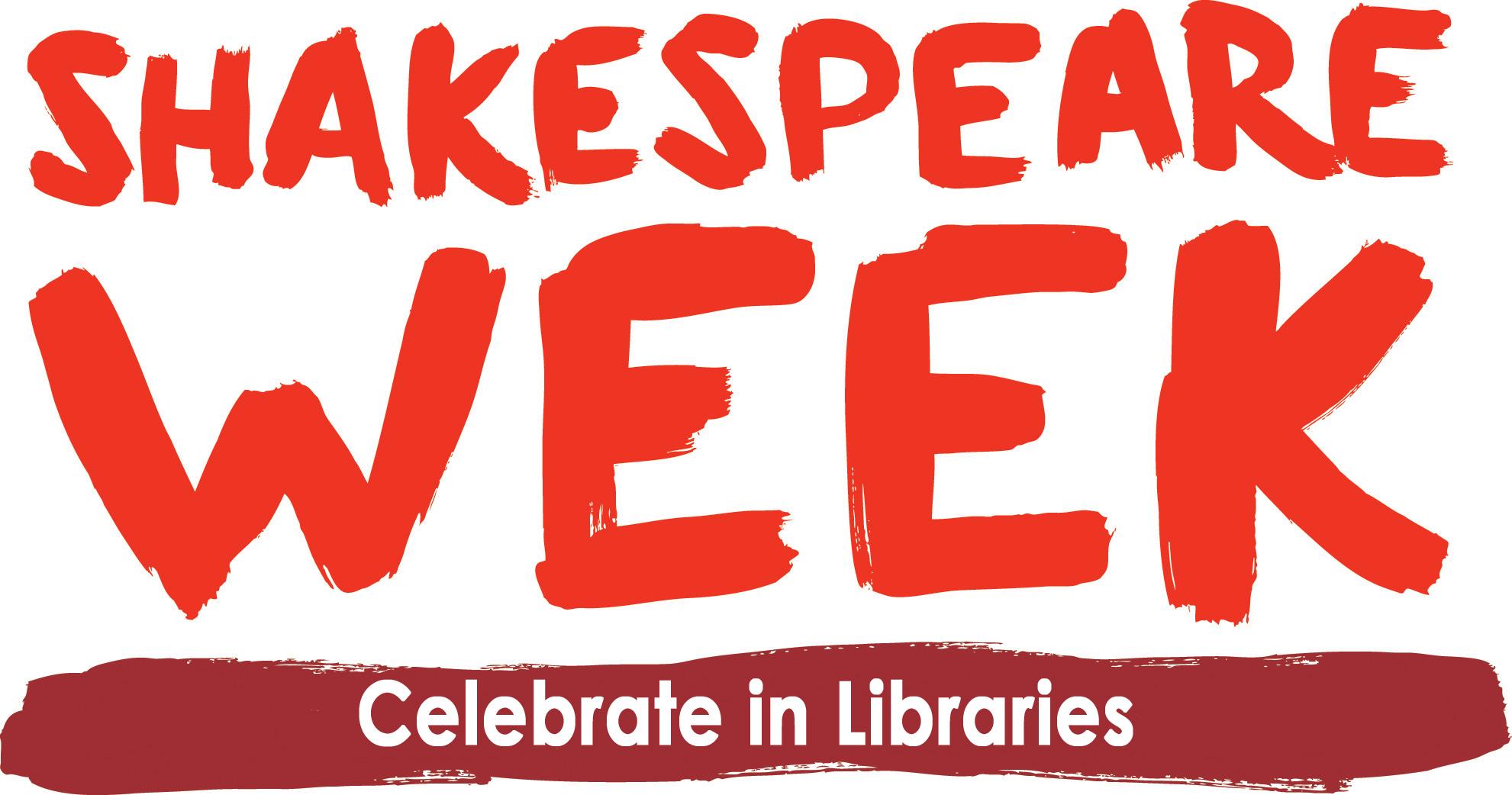 Shakespeare week logo libraries