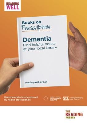 Thumb books on prescription dementia care poster 2 0