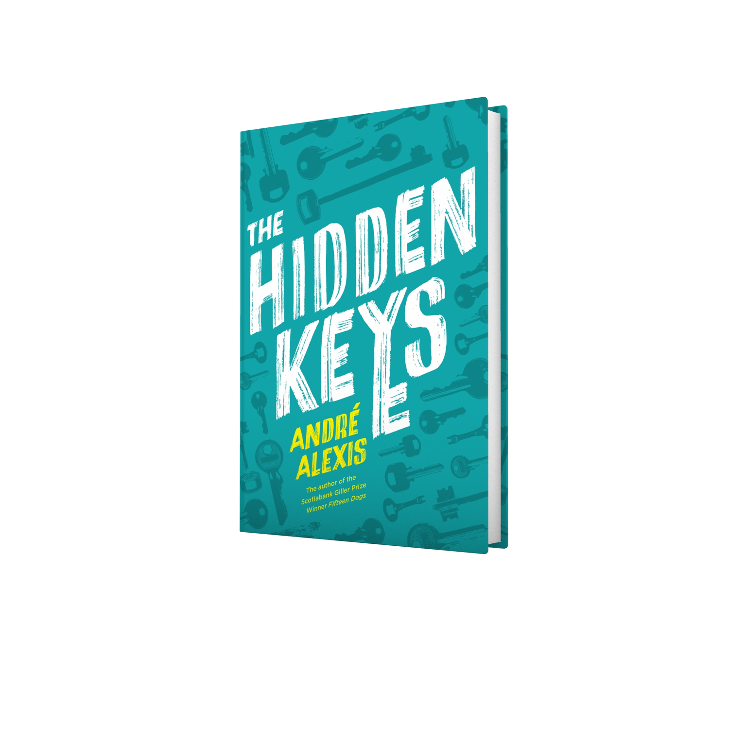 The hidden keys packshot