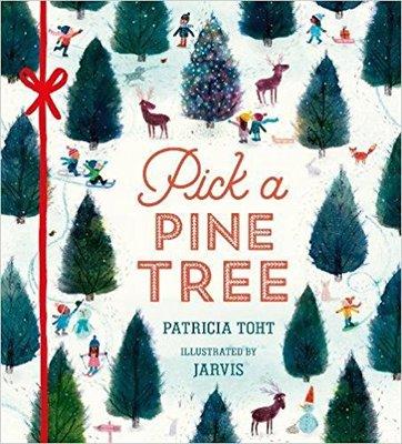 Thumb pick a pine tree