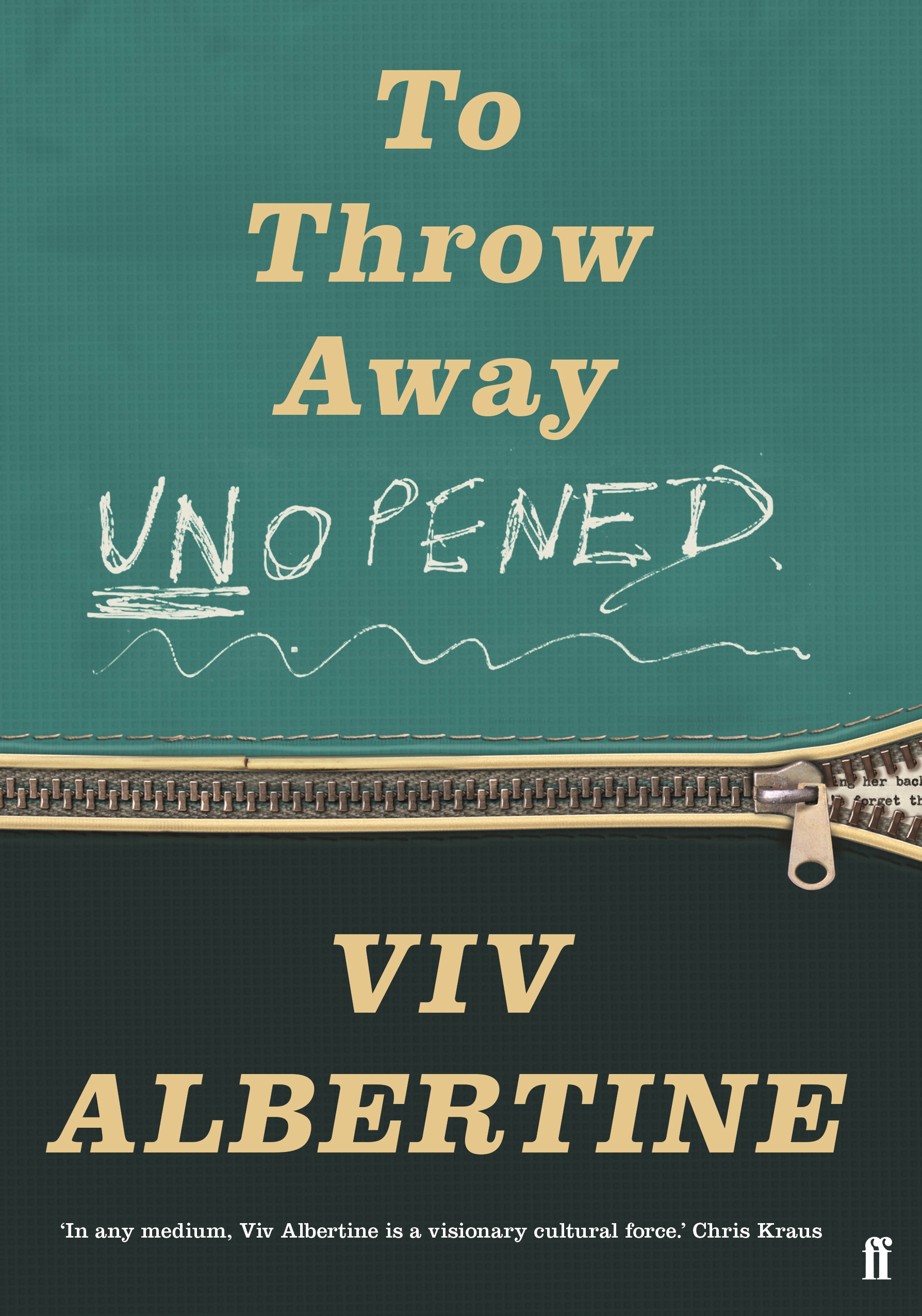 Throw away unopened