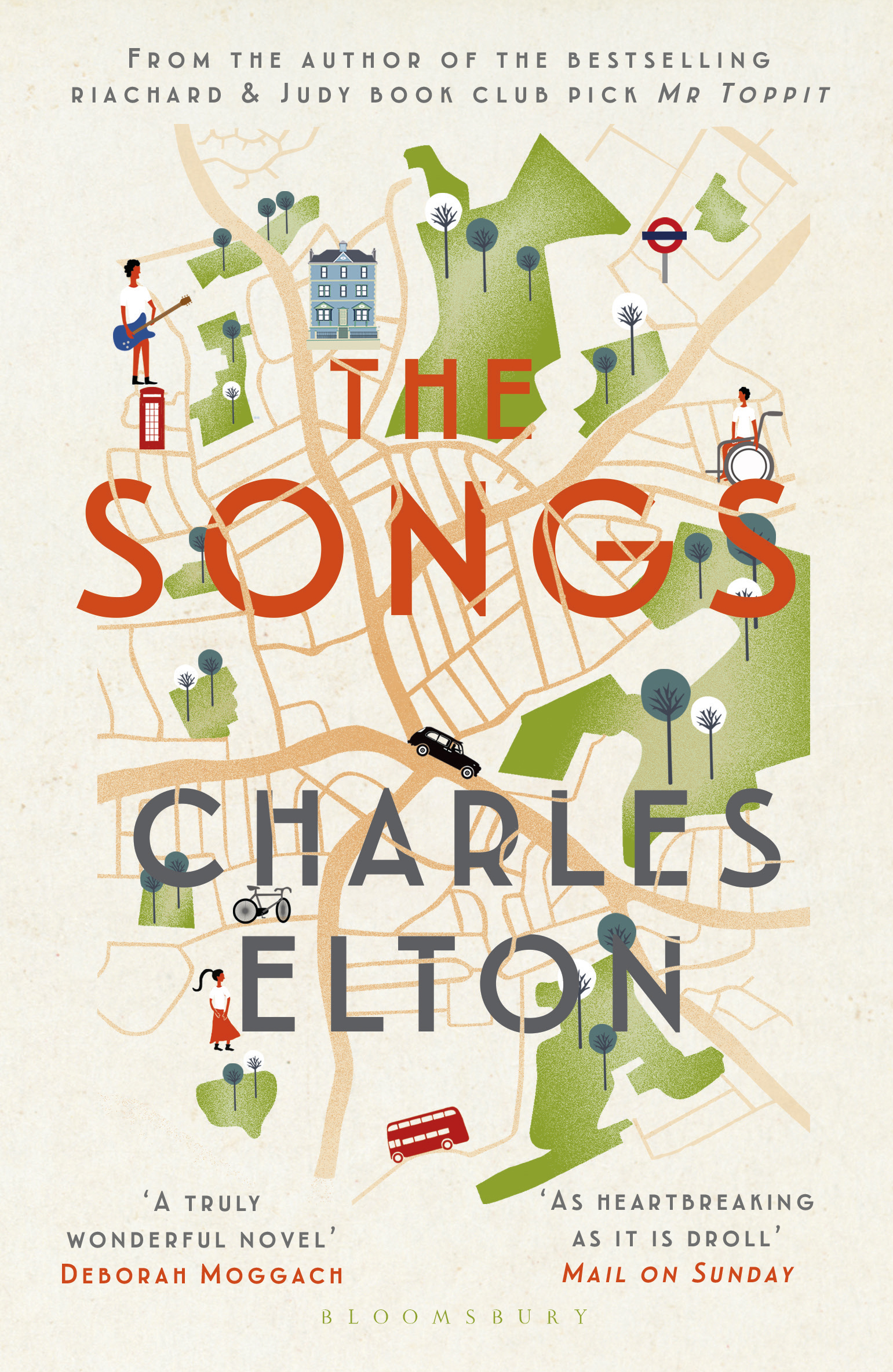 The songs paperback jacket