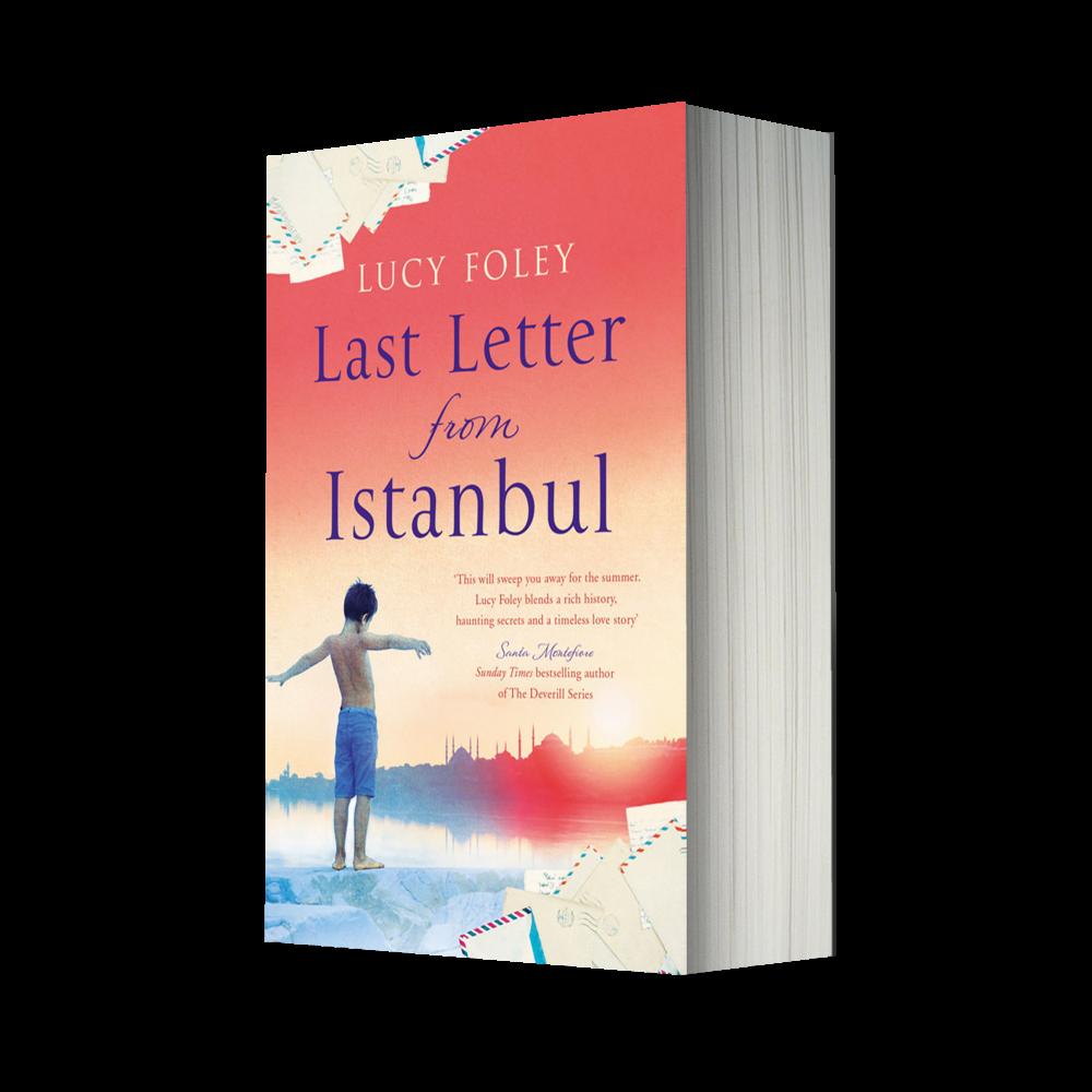 Last letter packshot