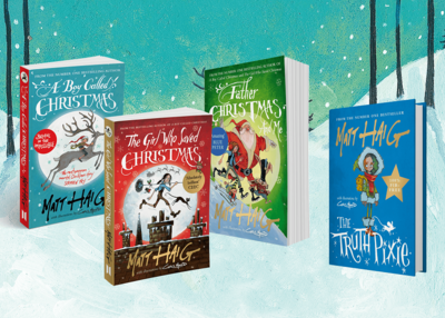 Thumb matt haig christmas books all 4 with background