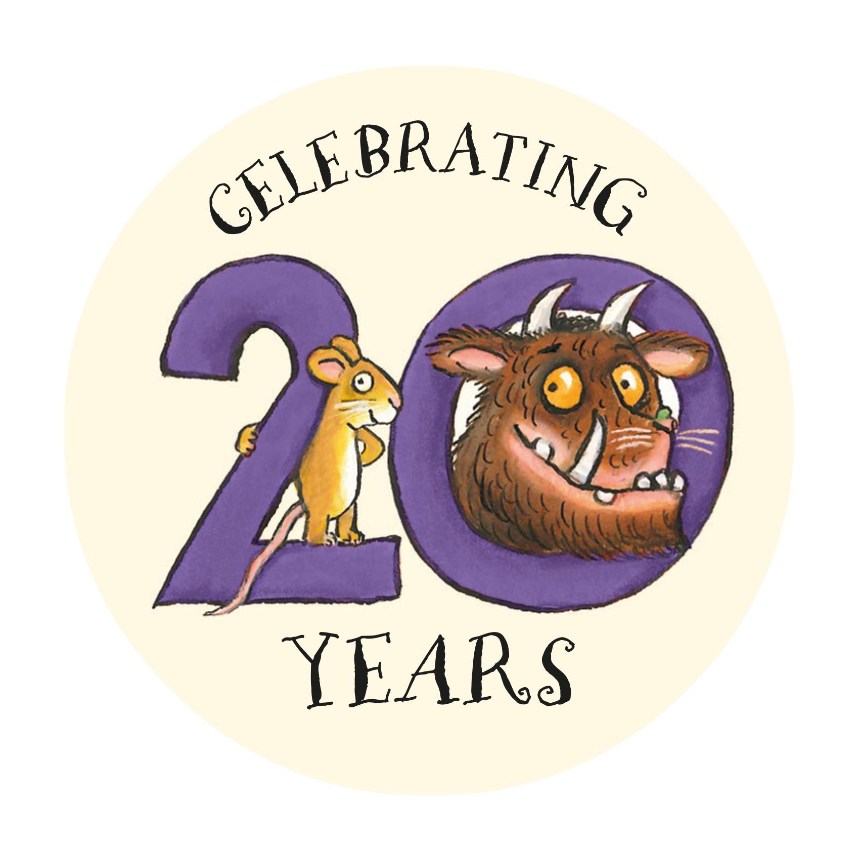 Gruffalo 20th logo