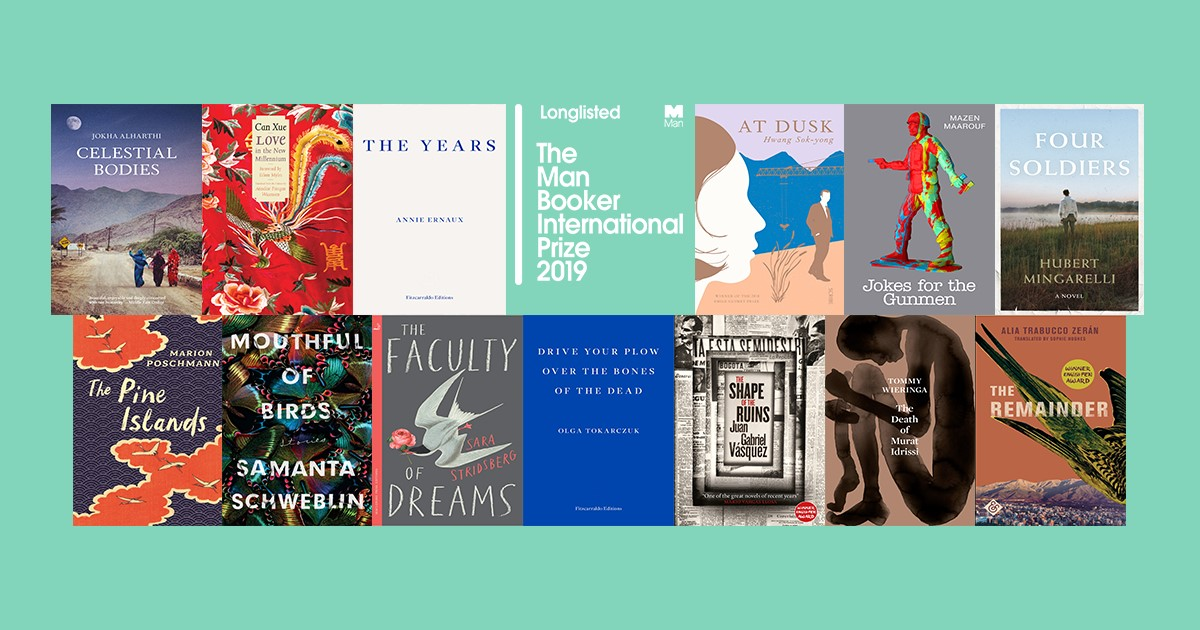 Man Booker International Prize 2019 Nominees