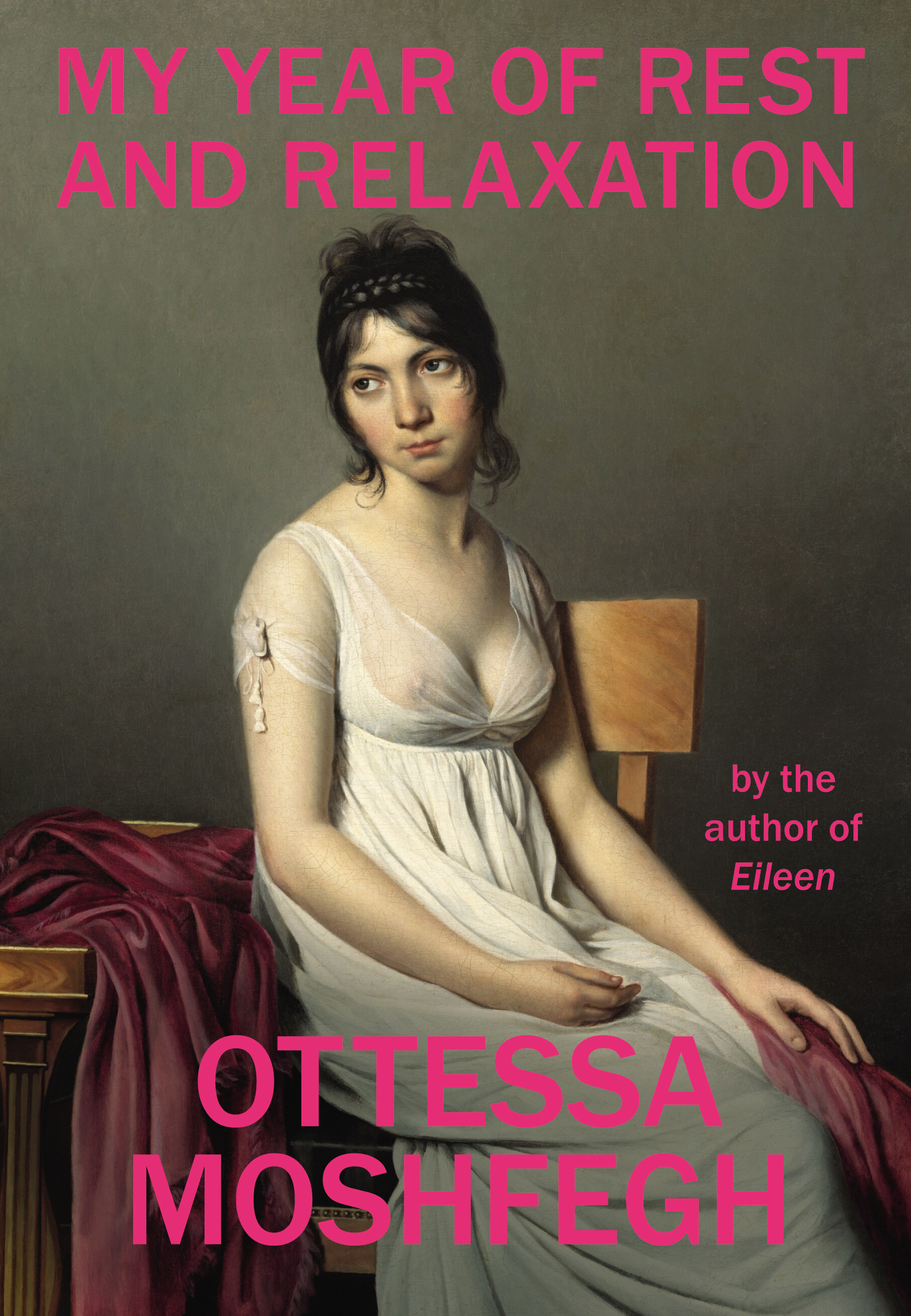 My year of rest and relaxation by ottessa moshfegh pb front cover
