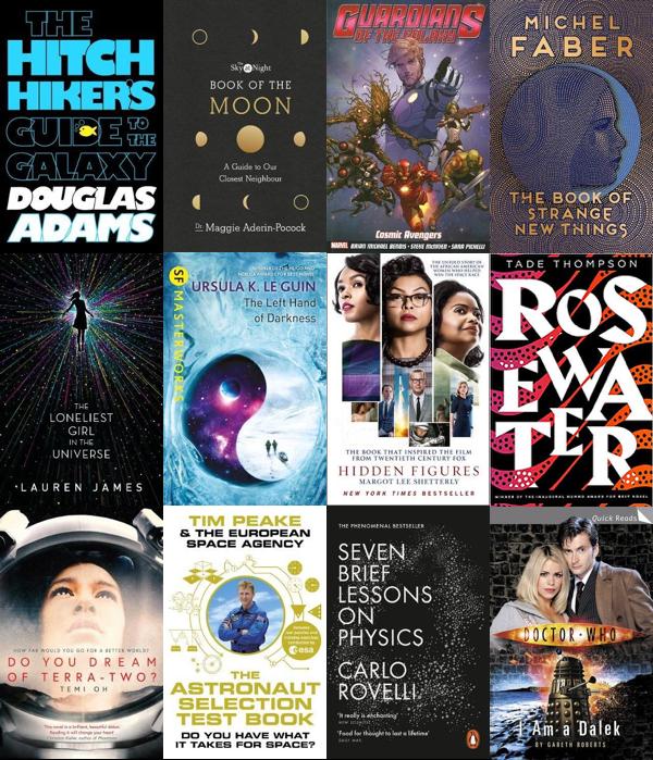 Space booklist