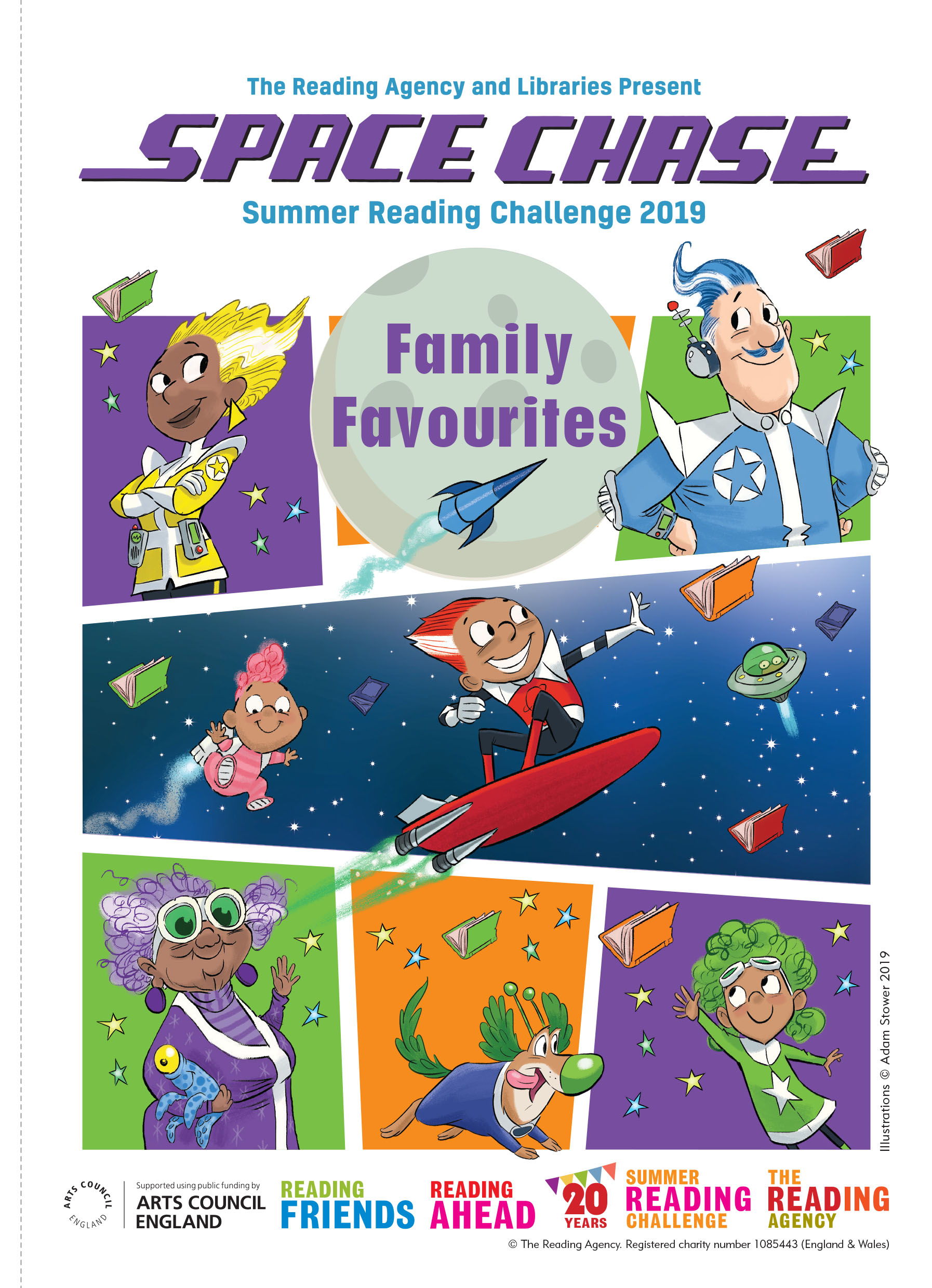 Space Chase Family Favourites Activity Sheet