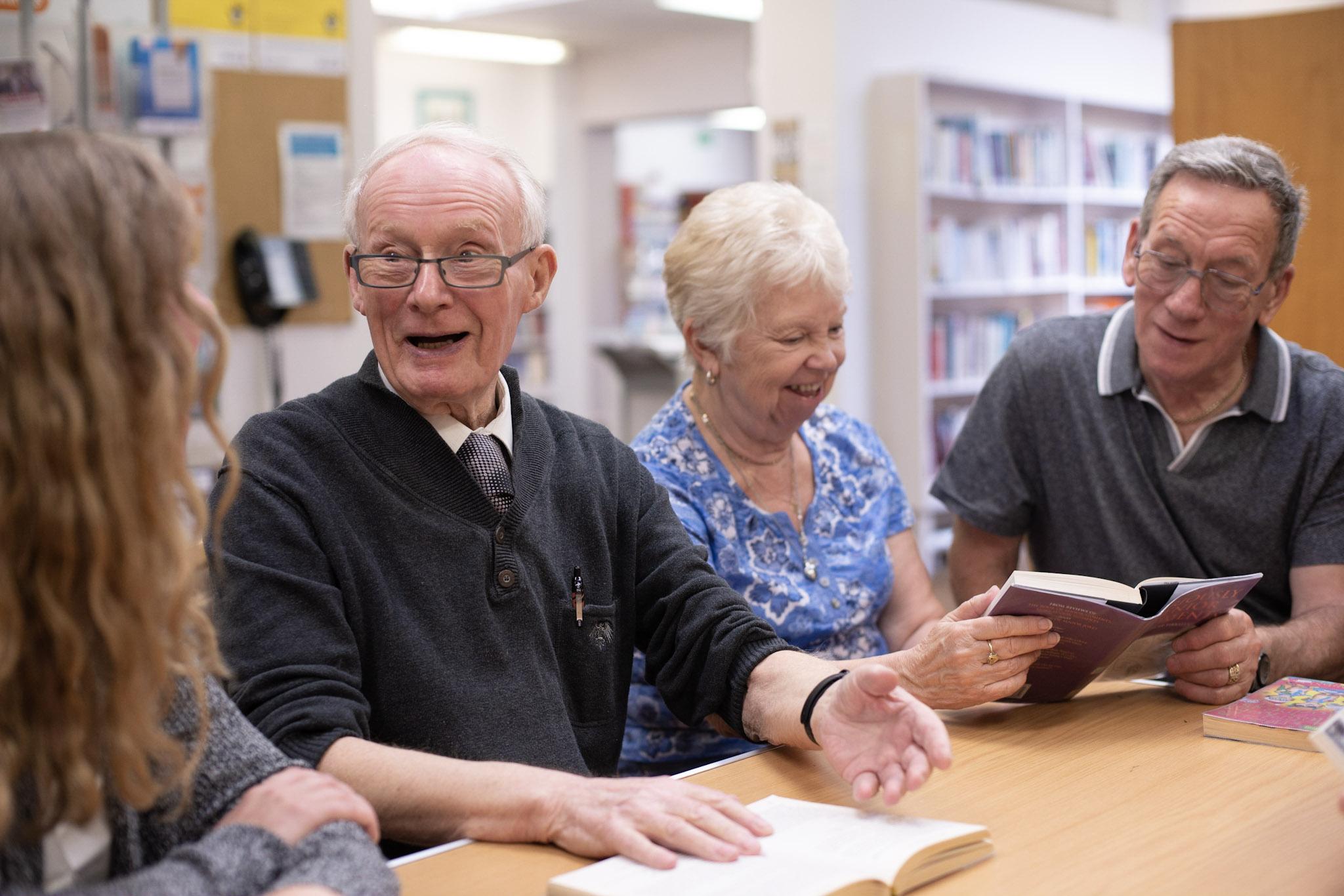 Reading Friends Reading Aloud
