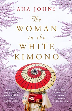 The woman in the white kimono  250