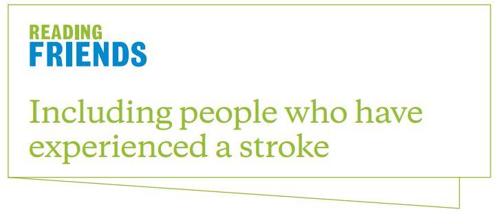 Reading Friends stroke information resource