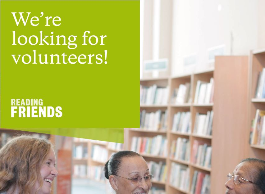 Reading Friends Volunteer Recruitment Poster