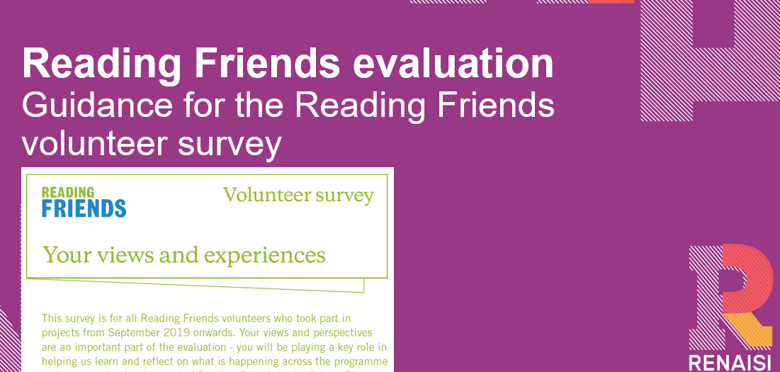Reading Friends GUIDANCE for volunteer survey