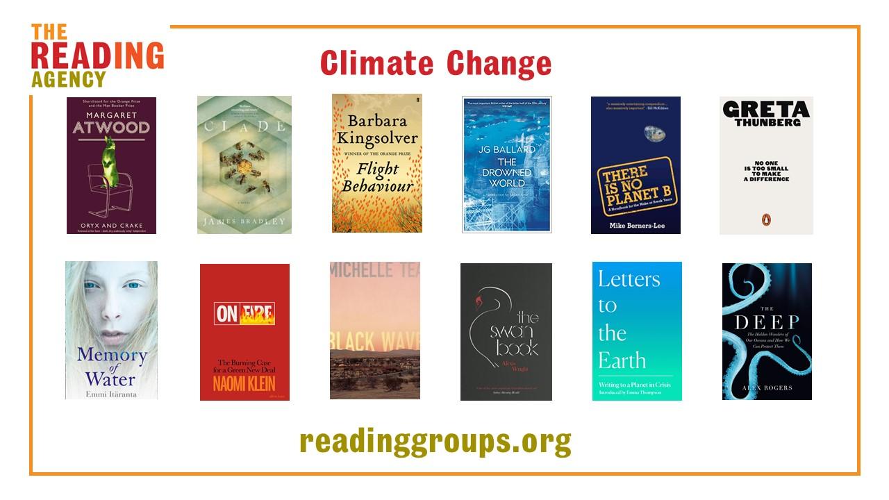 Climate change booklist