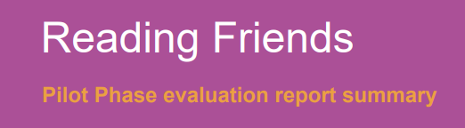 Reading Friends executive summary 2018-2019