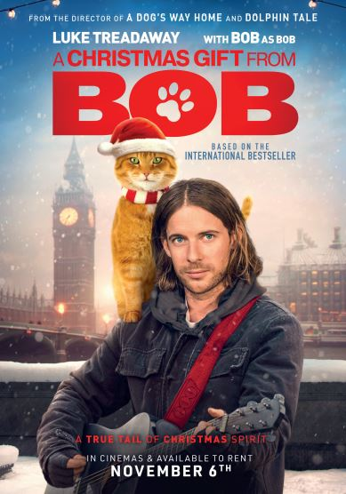 A christmas gift from bob film poster