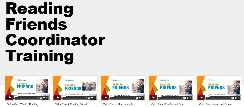 Coordinator training videos