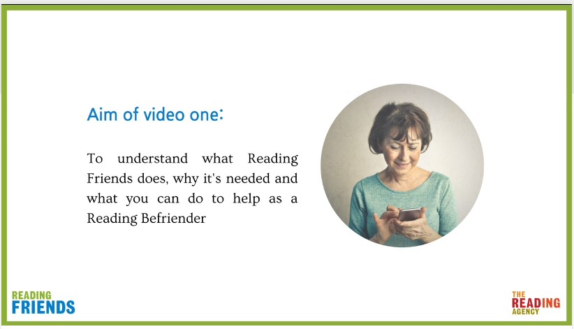 Reading Befriender Training MP3 of video 1