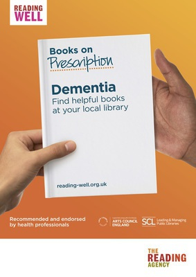 Thumb books on prescription dementia care poster 2 0