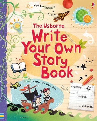 Thumb write your own story book